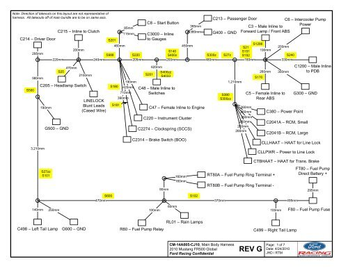 ford racing wiring harness diagram  wiring diagram series