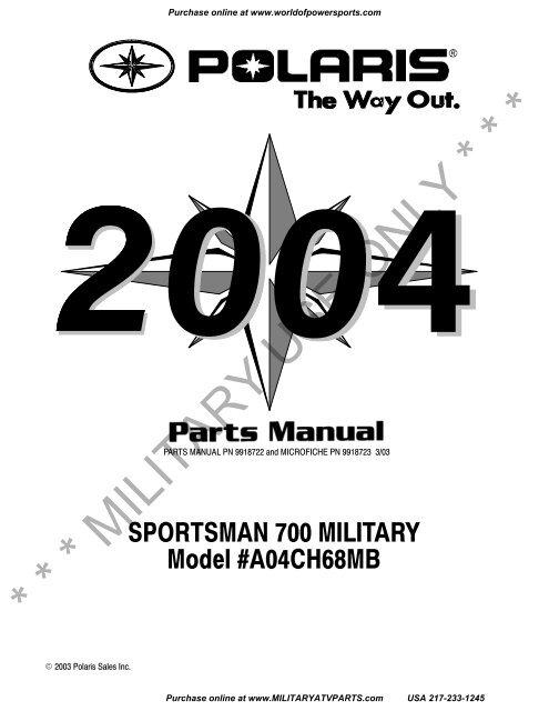 2004-polaris-sportsman-700-military-military-atv-parts  Polaris Ranger Fuel Pump Wiring Diagram on polaris ranger hood, polaris ranger fuel pump assembly, polaris ranger fuel pump problems,