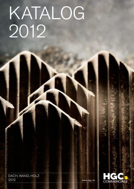 hgc dachwandholz katalog 2012 hg