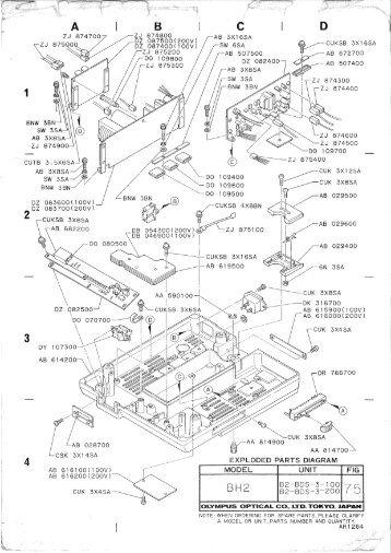 Essex SilverLine SL8 Parts Diagram