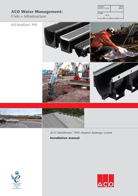 Aco Multidraina Ppd Channel Drainage System Asc Info