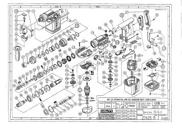 hilti spare parts list waitting co rh waitting co Hilti TE 905 AVR Brushes hilti te 905 service manual