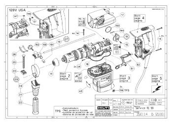 Hilti Parts Breakdown. Engine. Wiring Diagram Images