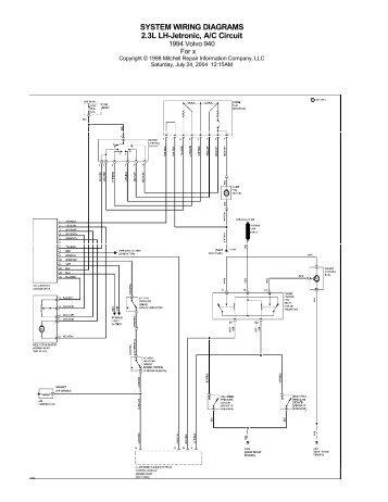 1993 VOLVO 940 Service Repair Manual 93   fDownload