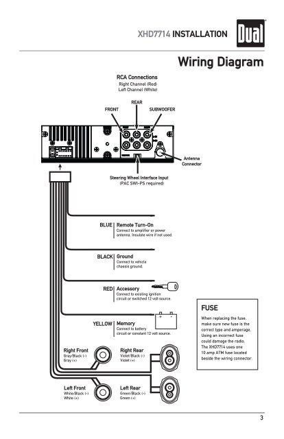 diagram dual radio wiring diagram model 7650 full version