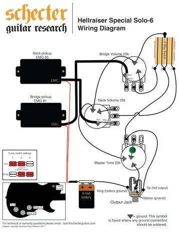 hellraiser special solo 6 wiring diagram schecter guitars?resize\\\\\\\\\\\\\\\\\\\\\\\\\\\\\\\=357%2C462 emg wiring diagram older emg 89 wiring, emg wiring guide, emg 81 Basic Electrical Wiring Diagrams at bayanpartner.co