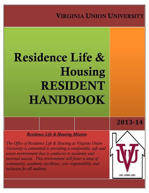 Residence Life & Housing - Virginia Union University