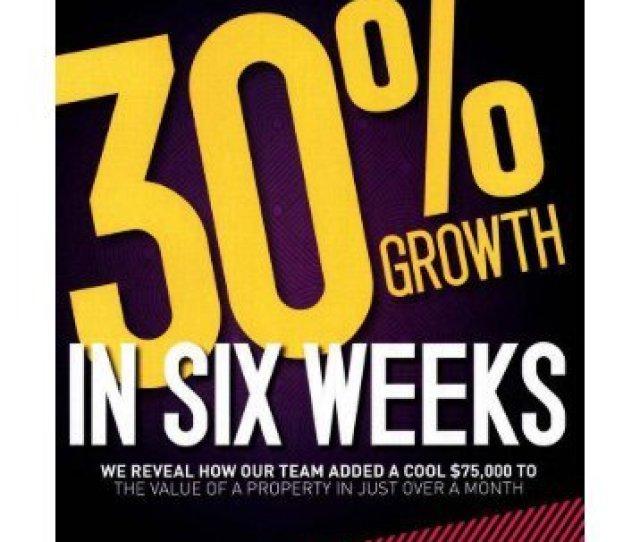 30 Percent Growth
