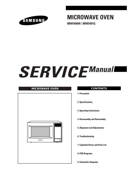microwave oven diagramas diagram