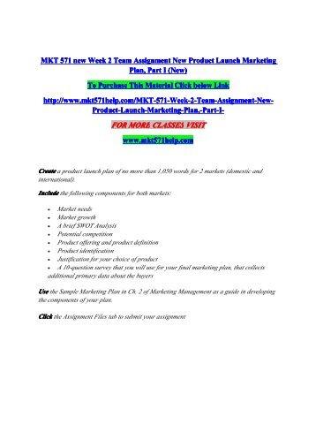 Mkt week 6 - Term paper Sample March 2020 - Academic ...