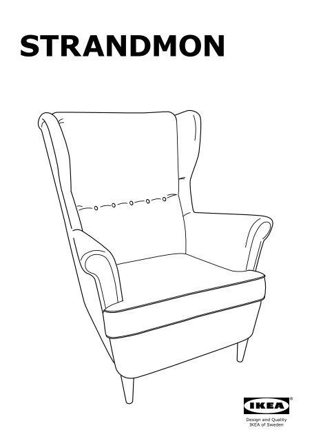 ikea strandmon fauteuil agrave