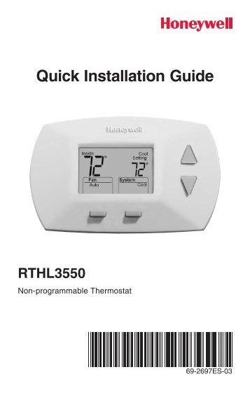 Honeywell Thermostat Wiring Diagram Th8000 : Honeywell th thermostat wiring diagram