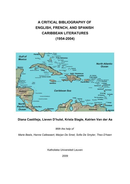 """When did the """"sweet home alabama"""" meme started? A Critical Bibliography Of English French And Spanish Caribbean"""