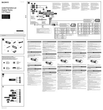 Sony Cdx Gt350mp Wiring Harness Sony Radio Harnesses • Wiring ...