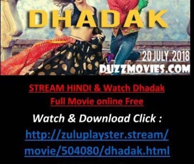 On Cinemark Watch Dhadak  Full Free Movie Online Streaming Hd Hindi Full
