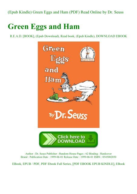 green eggs and ham pdf # 25
