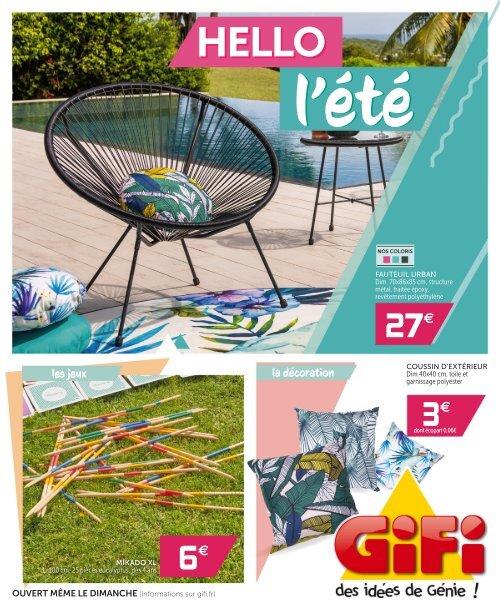 Gifi Catalogue 10 Juin 16 Juin 2020