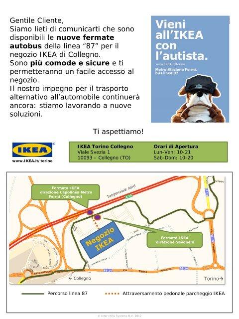 Nuovi Orari Linea 87 Dal 01042012 Ikeacom
