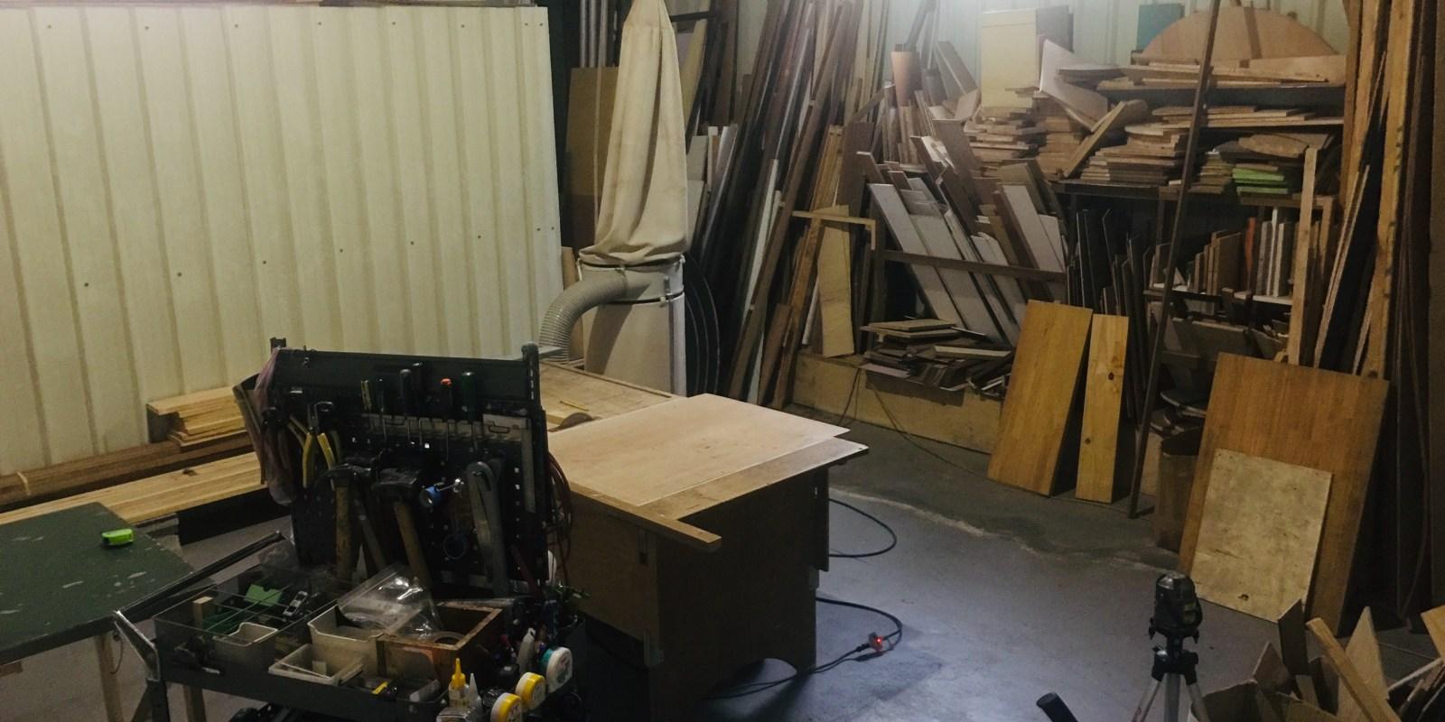 #149 [魚導日常] 這個木工室好厲害