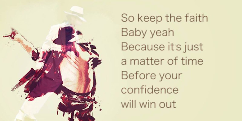 #167 [魚導日常] 這首我很愛聽的歌 Keep The Faith - Michael Jackson