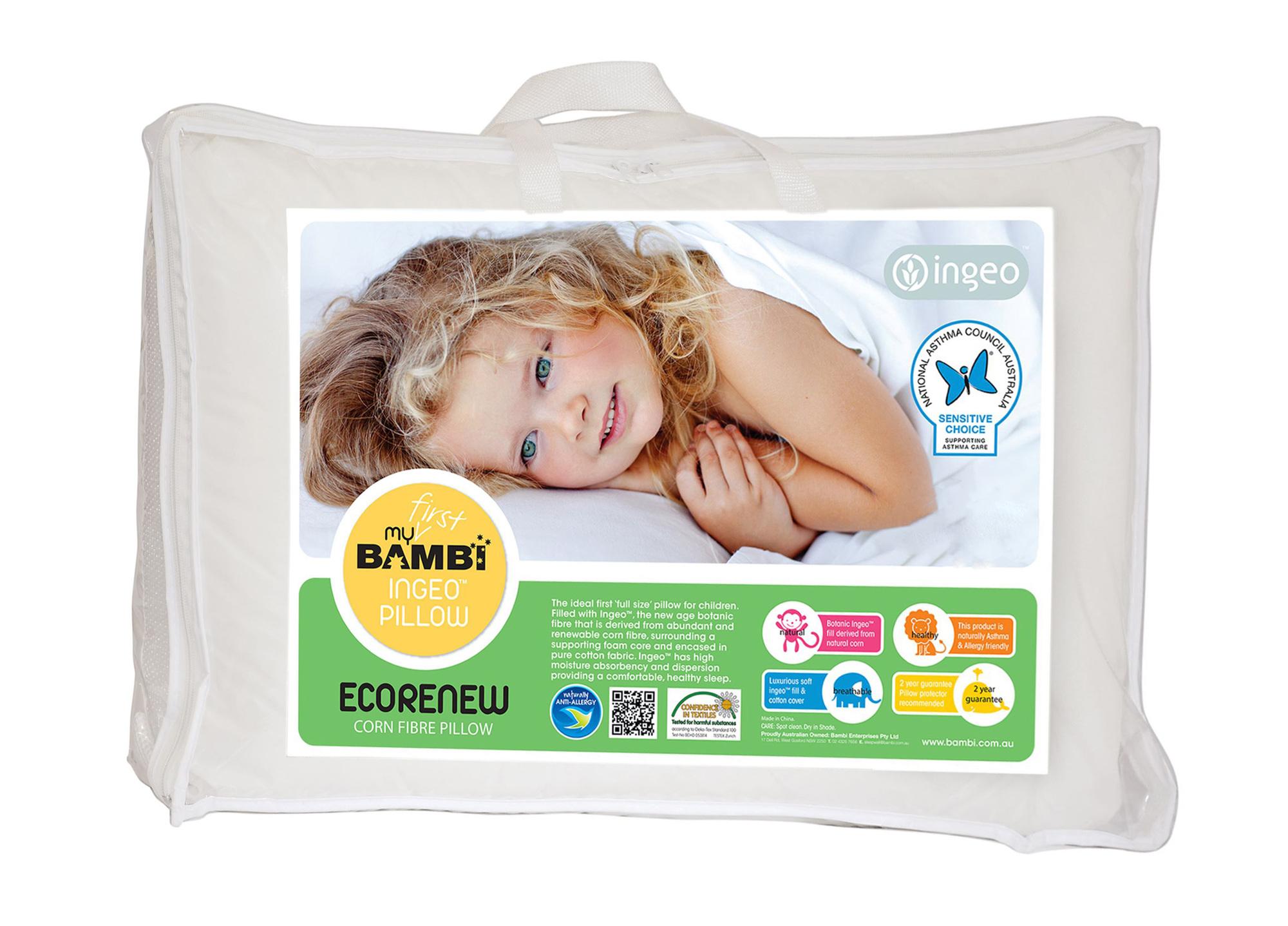 ingeo fibre toddler pillow