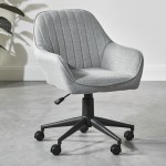 Milan Direct Grey Kinsey Fabric Office Chair Reviews Temple Webster