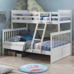 Vic Furniture White Seattle Single Over Double Bunk Bed Reviews Temple Webster