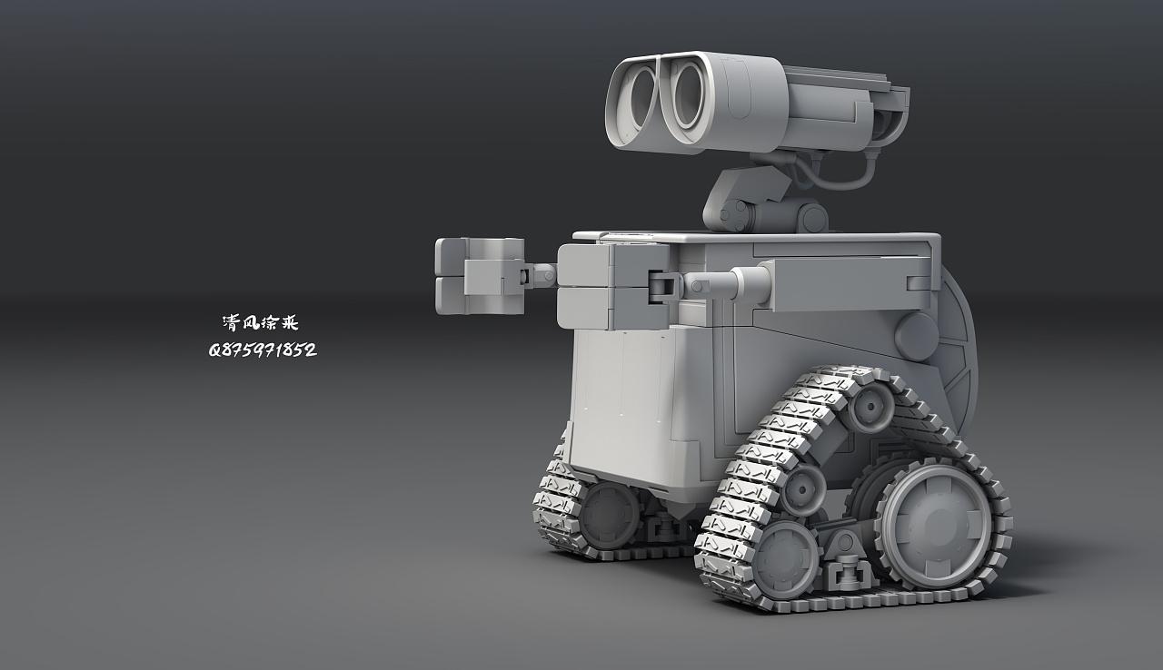 機器人瓦力|三維|機械/交通|LONGMOOYE - 原創作品 - 站酷 (ZCOOL)