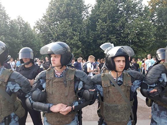 Проект «Сканер»деанонимизирует сотрудников спецслужб, разогнавших протест 27июля