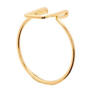 Alphabet U ring