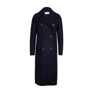Pressed wool Military coat
