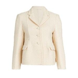 Boucle Shaped Jacket