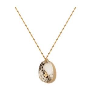 Gaia n°2 necklace agate