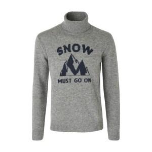 Snow rollneck jumper