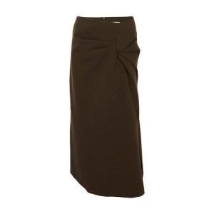 Iris wool skirt