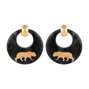 Tigre earrings
