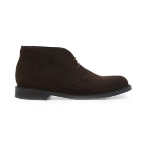Chukka lace-up ankle boots