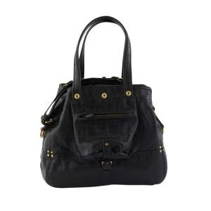 Billy medium mock-croc shoulder bag