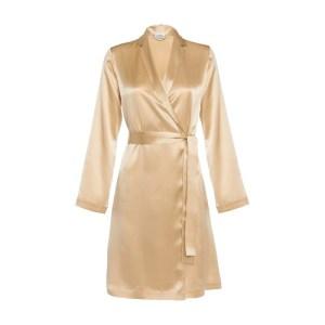 Short Robe In Silk