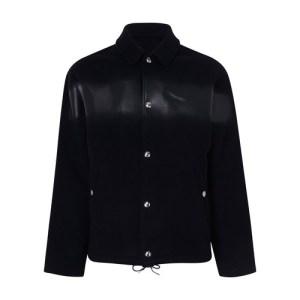 Padded overshirt jacket