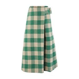 Ellis wool mix skirt