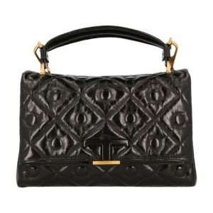 Paded leather bag