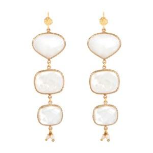 Silène Mother of pearl earrings