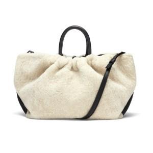 Los Angeles bag in shearling