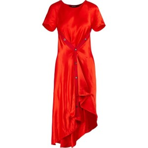 Satin Sophie dress