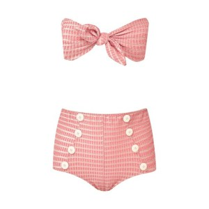 Poppy high-waisted bikini