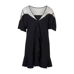 Lace Satin Dress