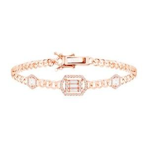 Link bracelet - multi baguettes