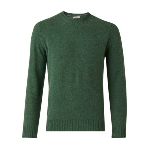 Shetland round neck jumper