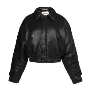 Aida bomber jacket in vegan leather